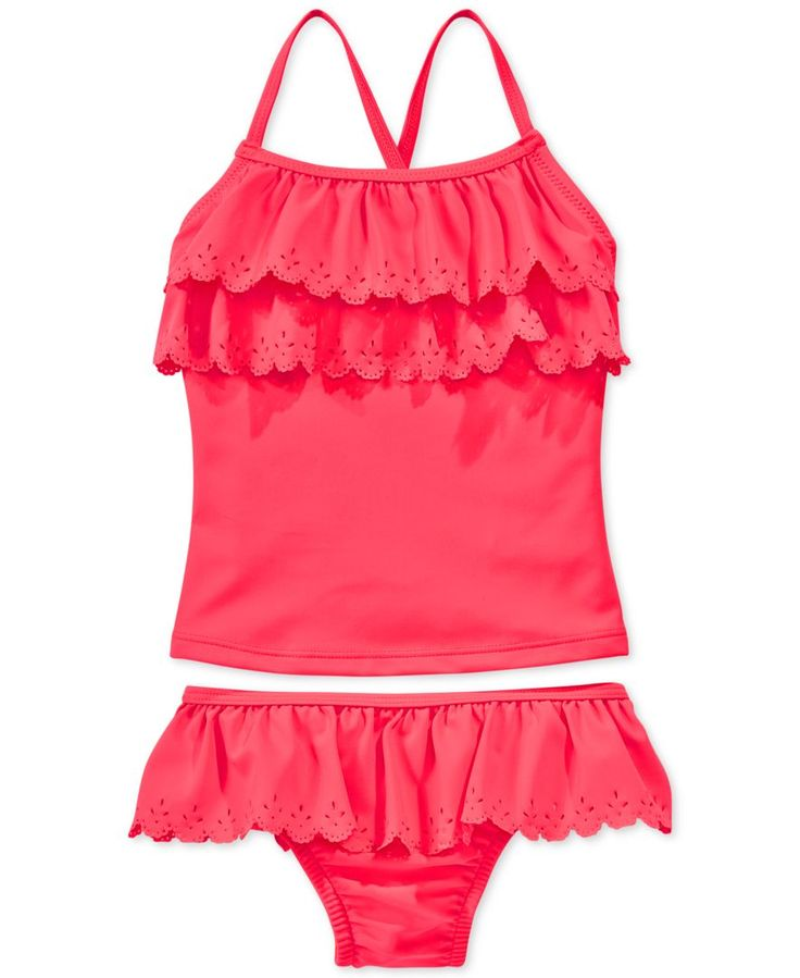 Carter's Little Girls' or Toddler Girls' 2-Piece Tankini Swimsuit