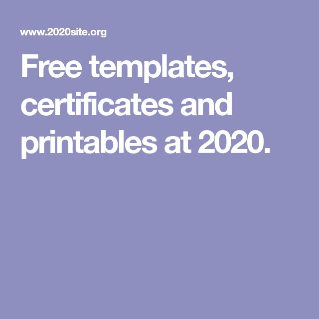 The 25+ best Free certificate templates ideas on Pinterest - certificates templates