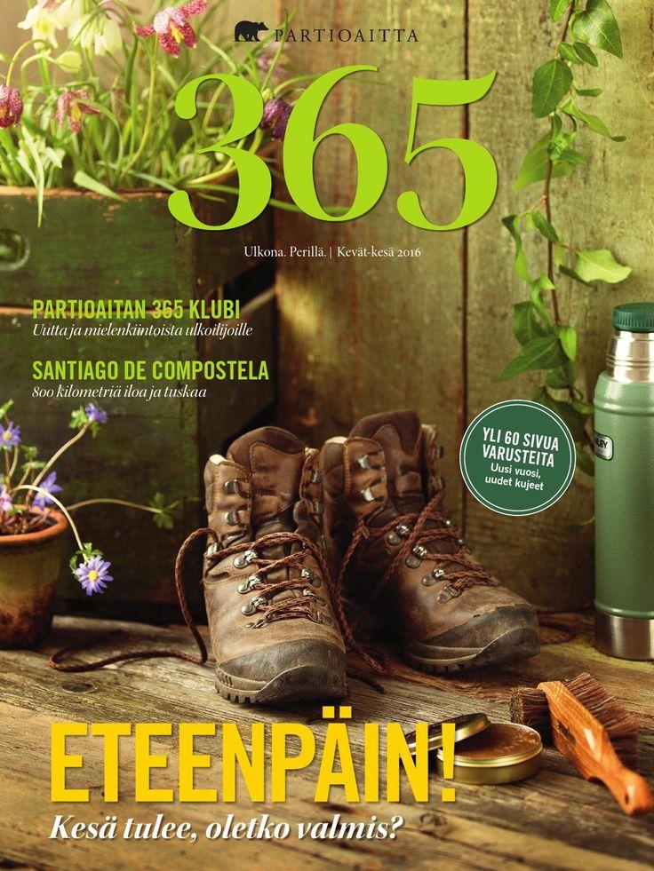 365 on Partioaitan julkaisema outdoor-lehti, jonka saavat 365 Klubin jäsenet. Liity 365 Klubin jäseneksi ja tilaa 365-lehti postiettuna kotiisi: http://www.partioaitta.fi/365klubi