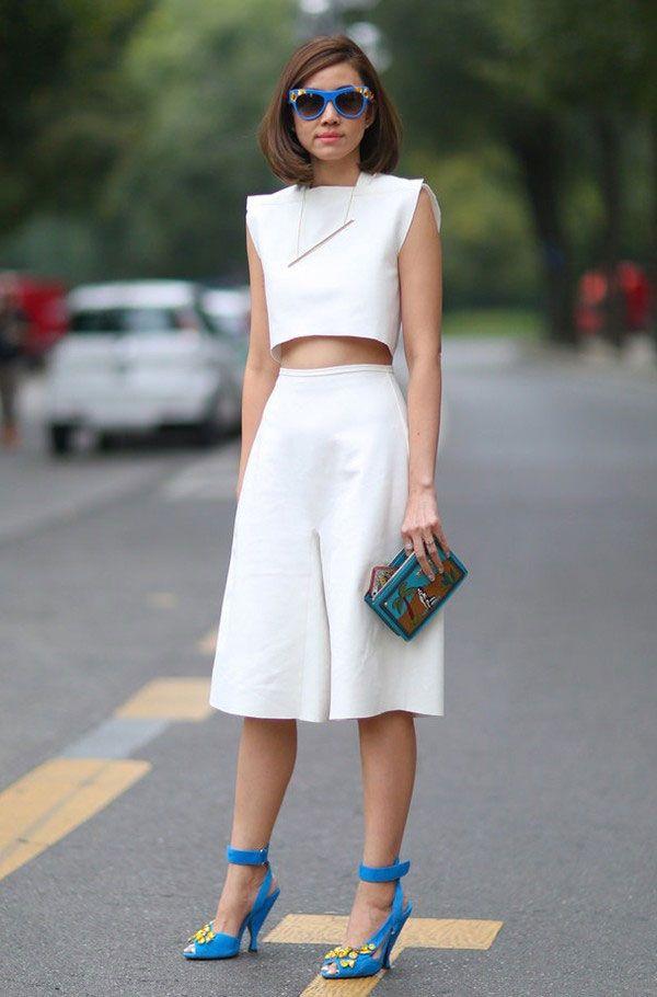 O Look Branco Nunca foi tão Hot » STEAL THE LOOK | Estilos de rua verão, Semanas de moda, Estilo menino