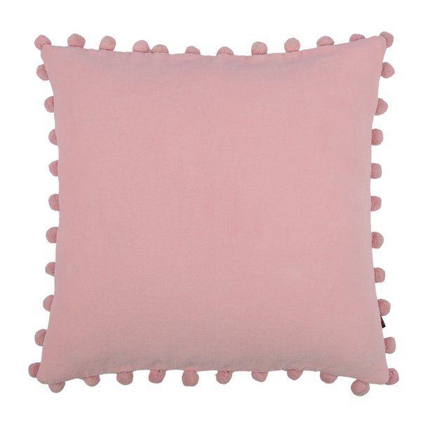 Ashby De La Zouch Pompom Cotton Cushion At Wayfair Co Uk 34 99 Https Www Wayfair Co Uk Home Decor Pdp Me Pink Cushion Covers Pink Cushions Pompom Cushion