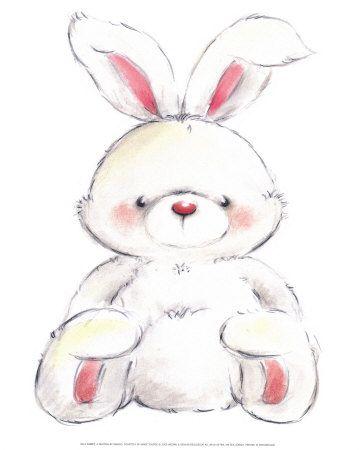 Rabbit Poster por Makiko na AllPosters.com.br