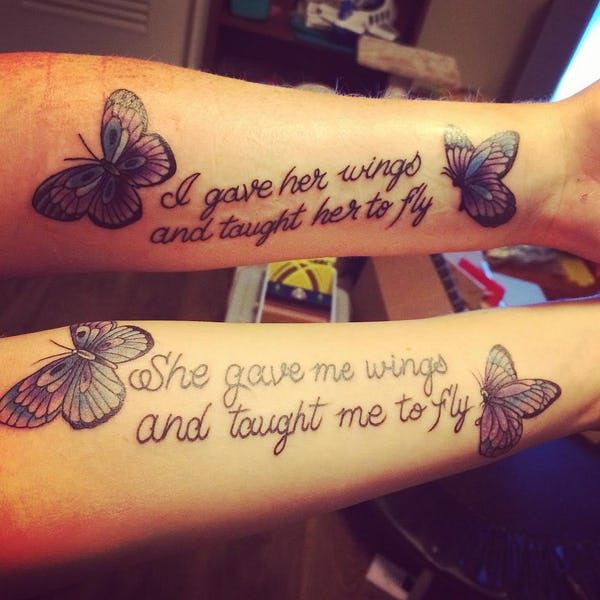 Mother Daughter Tattoo Ideas Tattoos For Daughters Mother