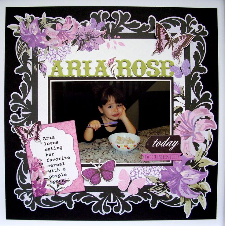 Aria Rose - Kaisercraft - Scrapbook.com