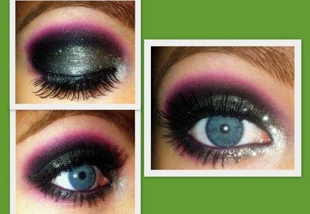 Silver plum: Makeup Inspiration, Plum Eye Makeup, Silver Plum, Makeup Ideas, Pop Colors, Fascinators Eye T, Makeup Looks, Eye Art, Evil Queen