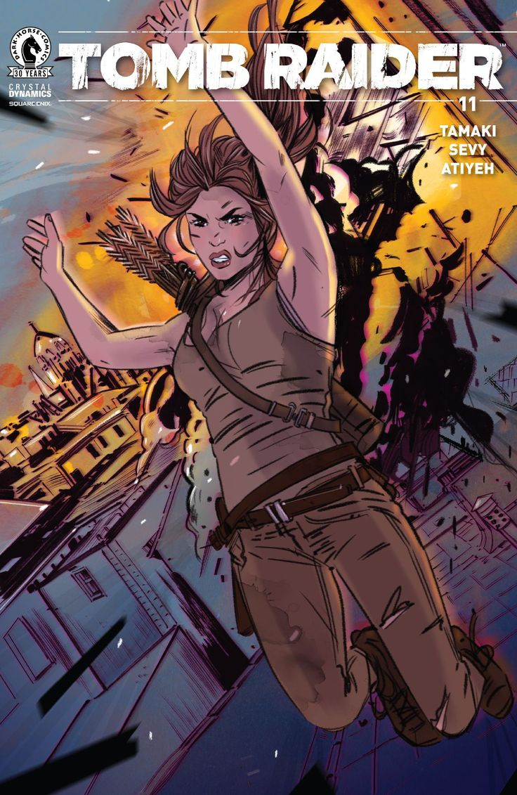 Tomb Raider (2016) #11 #DarkHorse @darkhorsecomics #TombRaider Release Date: 12/21/2016