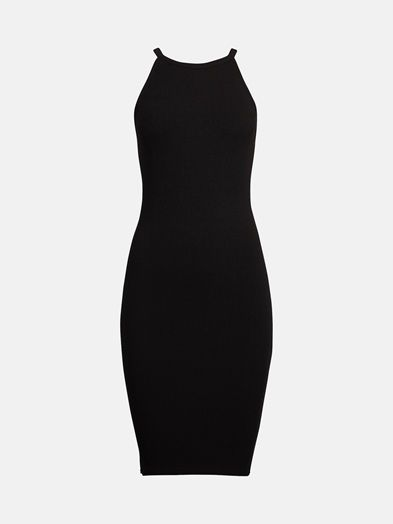 Saurus dress | 7175335 | Sort | BikBok | Norge
