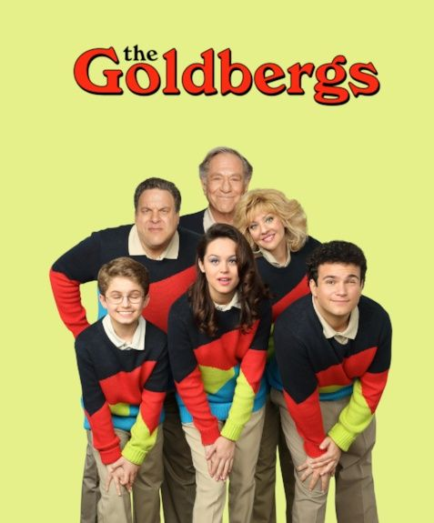 The Goldbergs - this show makes me laugh really loud...and I love that it's set in the 80's :)