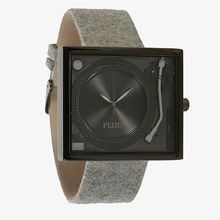 Flud Watches Watch Tableturns In Light Melton U0026 Gunmetal Grey