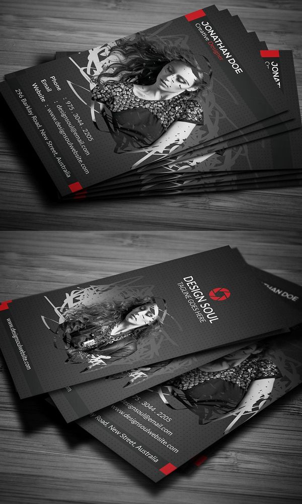 Creative Photography Business Cards Design Graphic Design Junction Photography Business Cards Business Card Design Photography Photography Business Cards Template