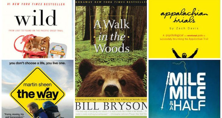Thinking of hiking a long trail or just love dreaming about it? Curl up with one of these dozen stories.