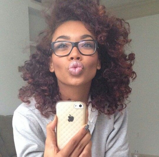 Bantu knot out  Luv this style