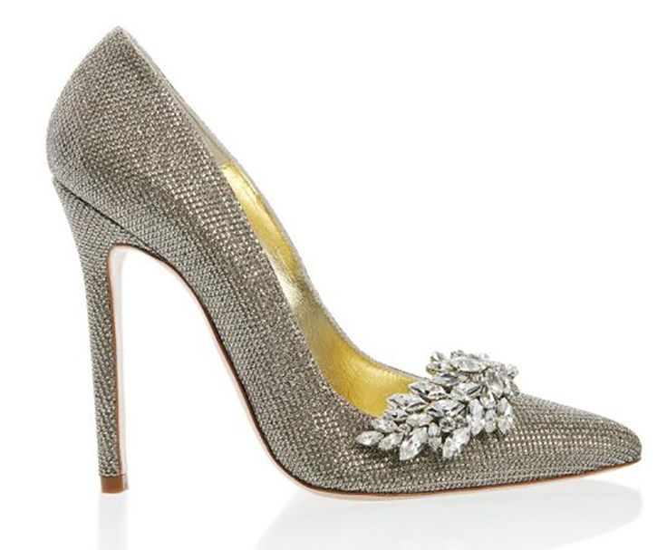 The Best Wedding Shoes For A Winter Luxe Chwv