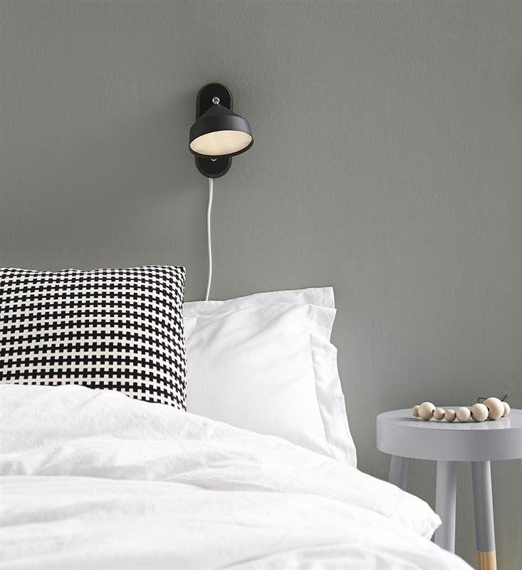 Markslojd Kinkiet LED Tratt 105802 : Kinkiety LED : Sklep internetowy Elektromag Lighting #bedroom #lighting #blackandwhite #oświetlenie #sypialnia