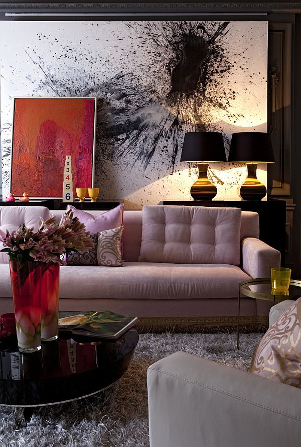 ~~** To be found in one of my Ideal Rooms ~~ SheviRose :).  Art on the walls of a space complete it and make it feel cozy. Dont forget often under-decorated spaces such as hallways, offices, bathrooms, entryways, and kitchens. Collecting art is a process so don't be overwhelmed. Just as with most collections they accumulate over a lifetime and tell your story throughout your home.