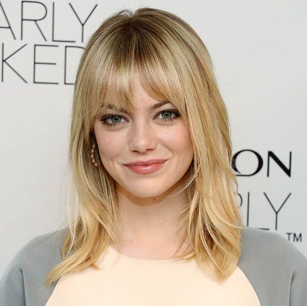 Emma Stone blonde. #celebrities