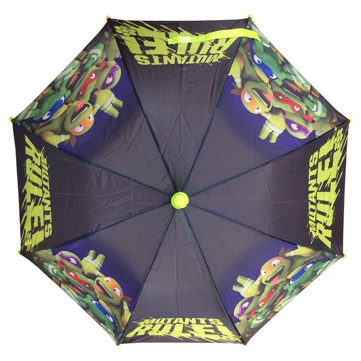 Teenage Mutant Ninja Turtles Boys' Compact Umbrella - Green