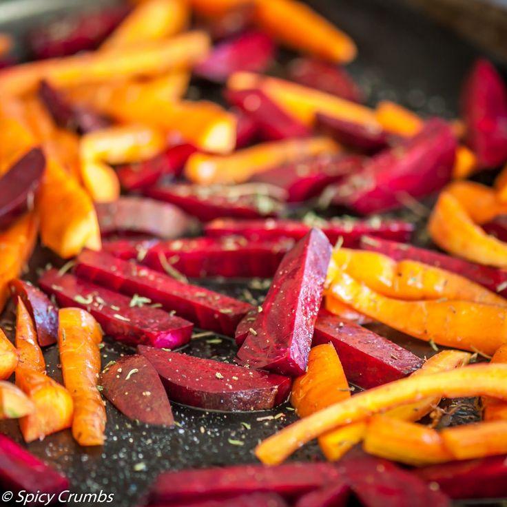 Pro jednou zkuste změnu. Pečená červená řepa s mrkví jako zeleninová příloha nahradí hranolky nebo i chlebacoby přílohu ke grilovanému masu. Dělám ji poměrně často zejména vzimě, ale právě ke…