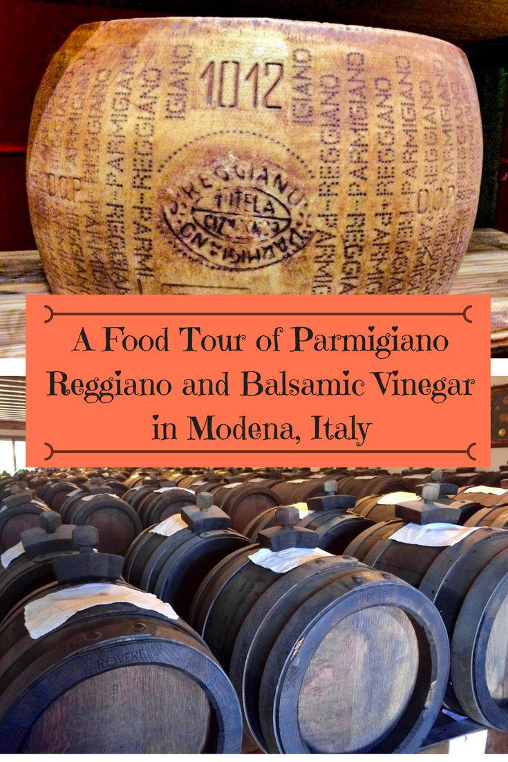 A Food Tour of Parmigiano Reggiano and Balsamic Vinegar in Modena, Italy | Our Sweet Adventures