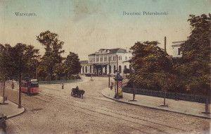 Dworzec Petersburski, pocz. XX w.