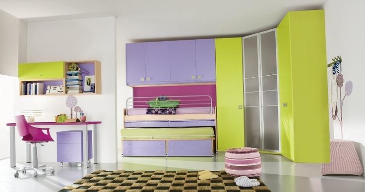 Massima libertà di concepire la zona letto come una stanza in grado, con creatività, di soddisfare esigenze estetiche e componibili.