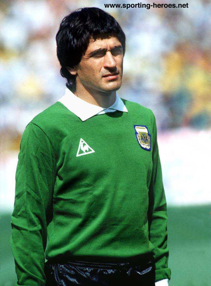 """Ubaldo """"Pato"""" Fillol - 58 partidos. Portero titular en Argentina 78."""