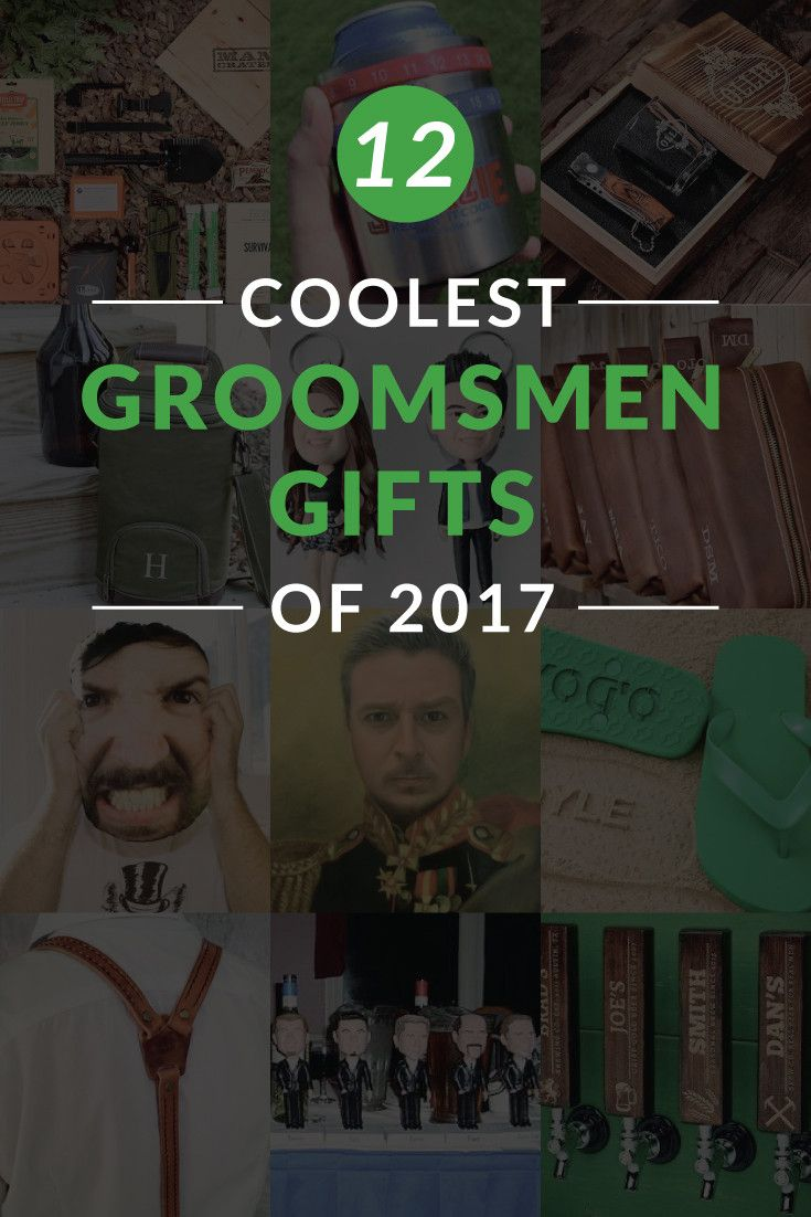 Best Groomsmen Gift Ideas for 2017. These unique but manly gifts will be sure to honor your groomsmen.