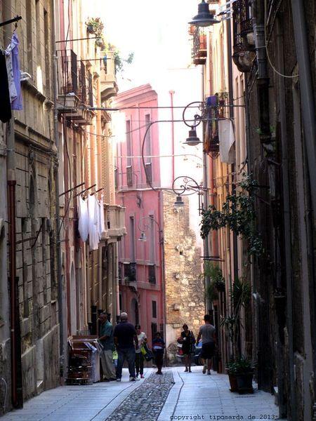 Il Castello - die Altstadt von Cagliari
