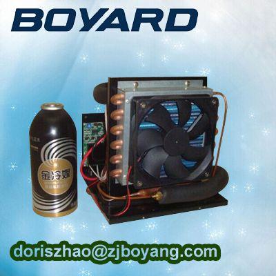 compact refrigeration unit DC12V mini condensing unit for Portable 12 volt ac unit #Affiliate