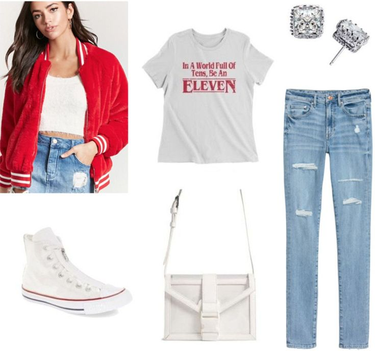 How to wear a varsity jacket to class: Outfit with light wash jeans, Eleven… - https://sorihe.com/fashion01/2018/03/04/how-to-wear-a-varsity-jacket-to-class-outfit-with-light-wash-jeans-eleven/