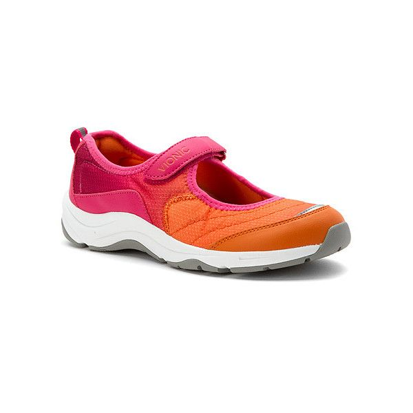 Vionic Sunset  Sneakers featuring polyvore women's fashion shoes sneakers athletic shoes women mary-jane shoes vionic footwear mary jane sneakers vionic shoes vionic
