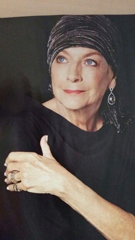 Australian ex model..Maggie Tabberer 78! God she looks fab..love her style