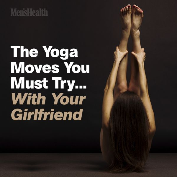 This is as close to foreplay as you'll get outside the bedroom. #sex #yoga #workout http://www.menshealth.com/fitness/yoga-for-couples?cid=soc_pinterest_content-fitness_july14_yogamoveswithgirlfriend