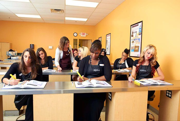 Esthetician majors for school
