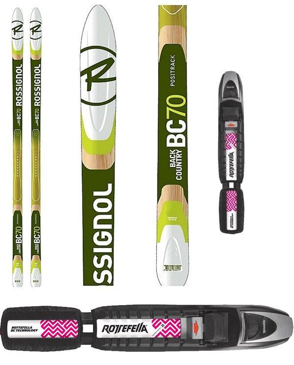 Cross Country Skis For Sale Ebay >> Cross Country Skiing 36264 New Rossignol Bc70 Metal Edge Bc Back