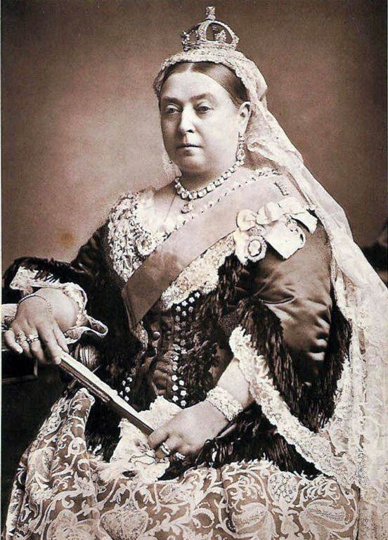 Koningin Victoria van Groot-Brittannië in 1887. Wikipedia