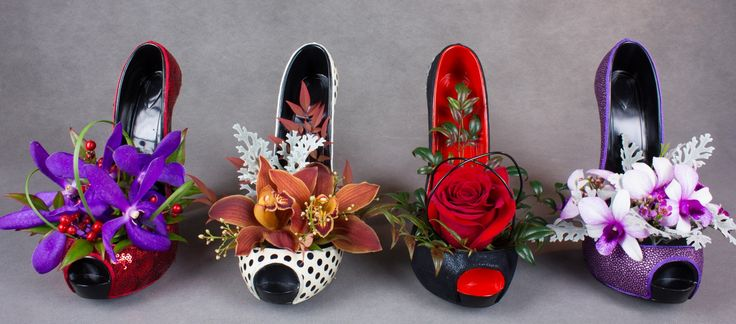 Stunning decorative gifts for shoe lovers.