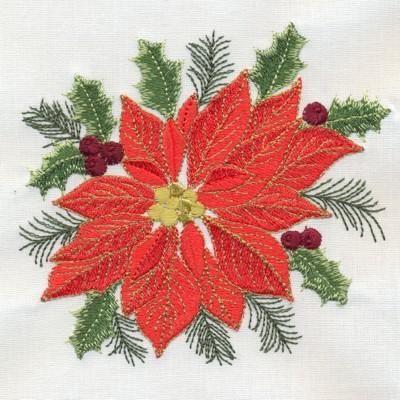 Machine Embroidery- Delightful Christmas
