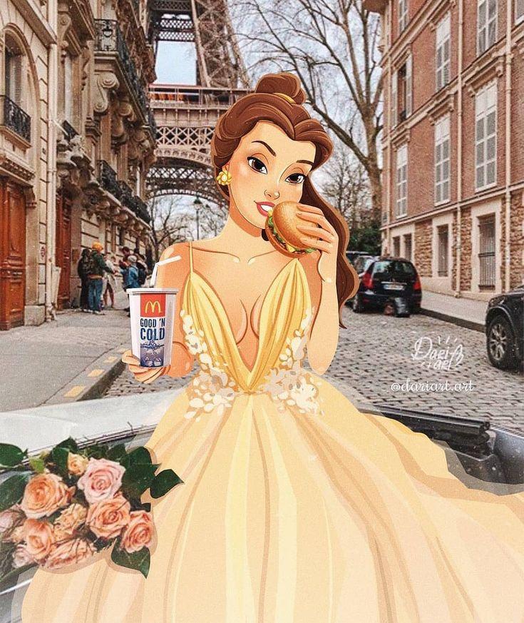 Современные картинки принцессы