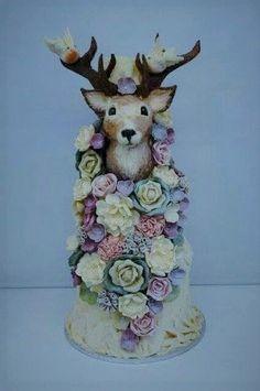 Wedding cake created by Dave and the Doodahs at Choccywoccydoodah