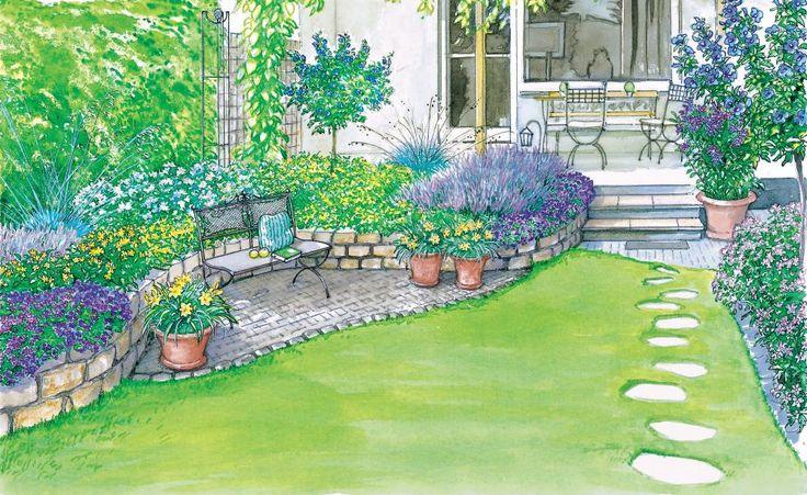 104 best Garten und Blumen images on Pinterest Gardening - gartenbeet steine anlegen