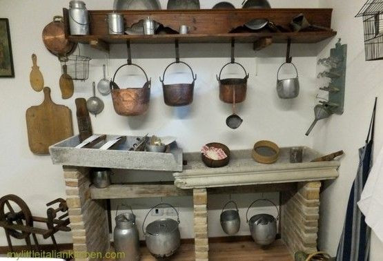 19th Century Kitchens | ... .com – Traditional mid 19th century kitchen from Northern Italy