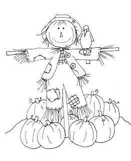 Free Dearie Dolls Digi Stamps: Friendly Scarecrow part two.....requested by Diane C. I will color later if you like and post tomorrow..... :...