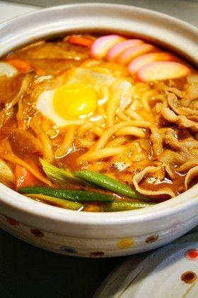 ✿味噌煮込みうどん鍋✿ by annnnn [クックパッド] 簡単おいしい ...