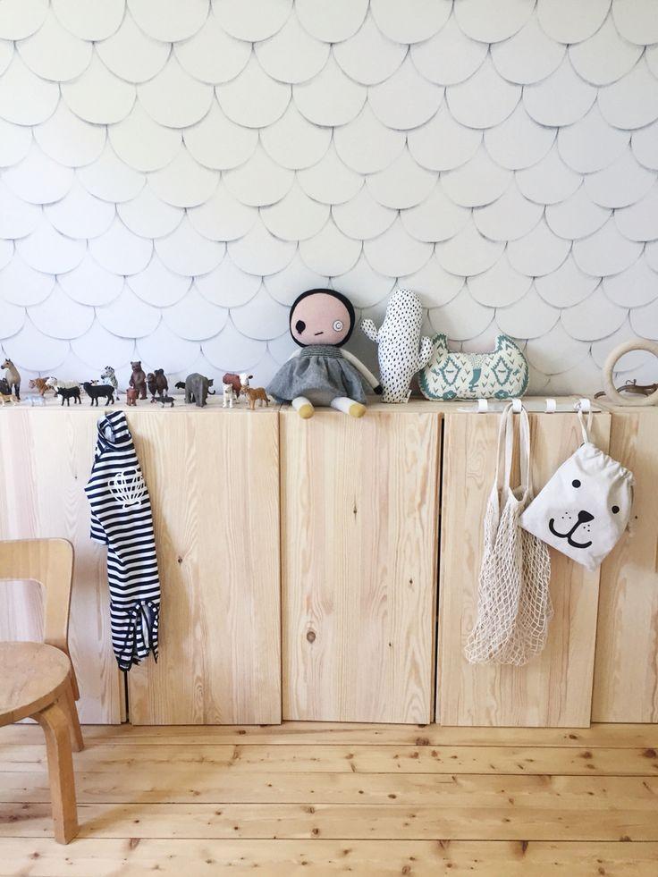 Tellkiddo Nursery - That wallpaper!