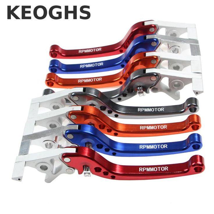 Keoghs Motorcycle Both Brake Master Cylinder Levers Cnc Aluminum Distance Adjustable For Yamaha Scooter Honda Kawasaki Modify #Affiliate