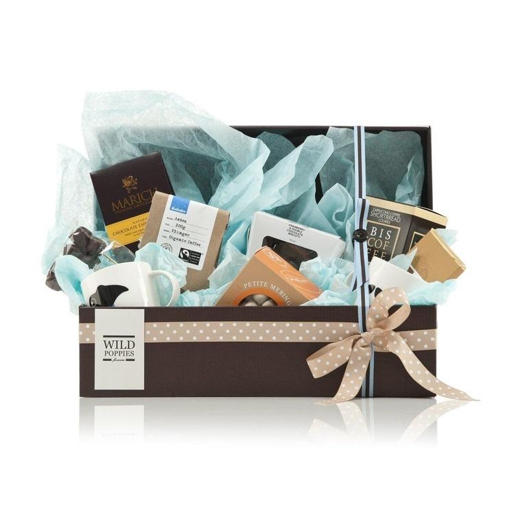 WildPoppies Coffee Cravers Large Gift Basket  $129.00