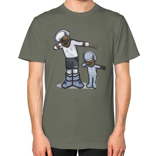 Cam Newton DAB Son - Dap On EM Unisex T-Shirt (on man)