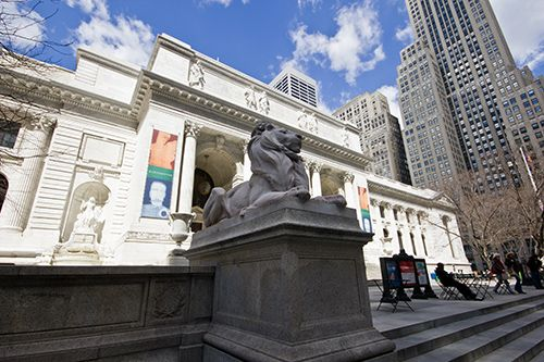 Image source: New York Public Library The library is the largest marble structure ever built in the US and the Rose Main Reading Room is a highlight thatmustbe seen