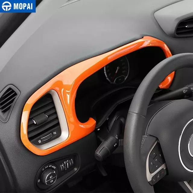 Mopai Car Dashboard Instrument Panel Decoration Frame Cover Stickers For Jeep Renegade 2015 Interior Accessories Car Sty Jeep Renegade 2015 Jeep Renegade Jeep